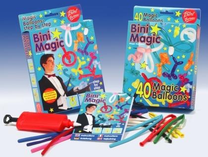 Bini Balloons Viborg modelleerimise õhupallid koos pumbaga