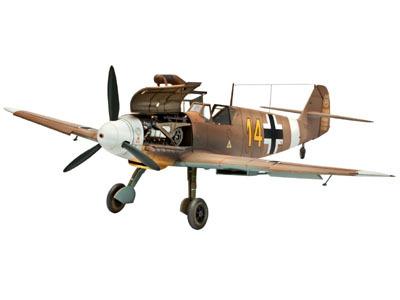 Revell mudellennuk Messerschmitt Bf109 F-2/4 1:48