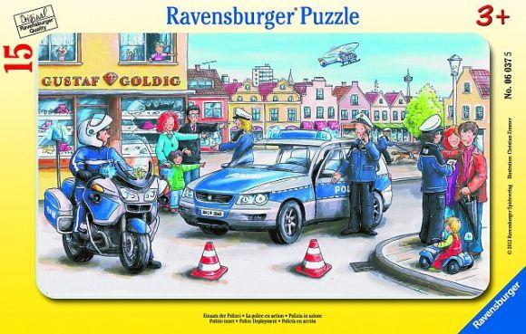 Ravensburger plaatpusle Politsei 15 tk