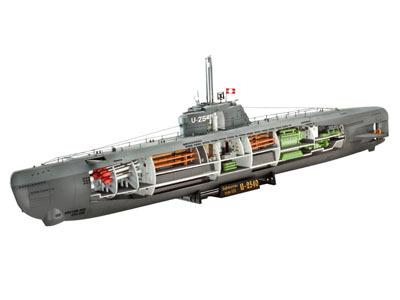 Revell mudelallveelaev Deutsches U-Boot Typ XXI 1:144