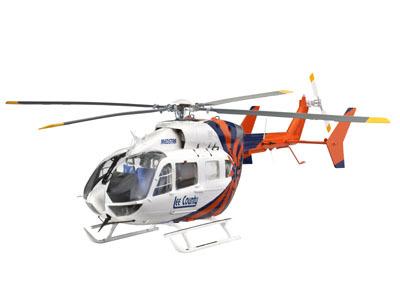 Revell mudelhelikopter EC145 Medstar/Police 1:32