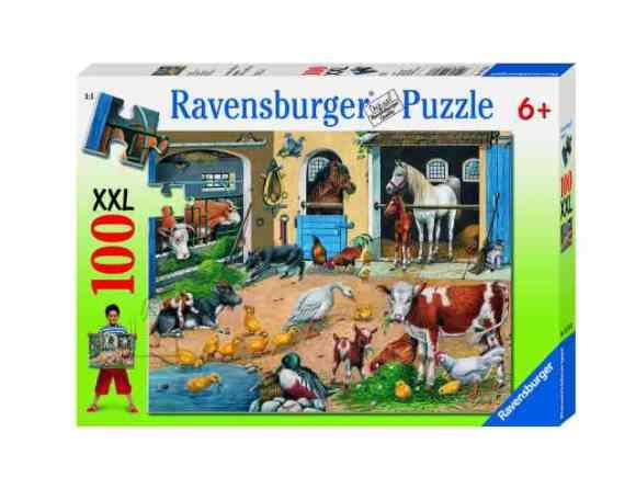 Ravensburger XXL pusle Loomade elu 100 tk