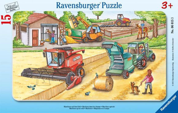 Ravensburger Ravensburger plaatpuzzle 15 tk. Masinad