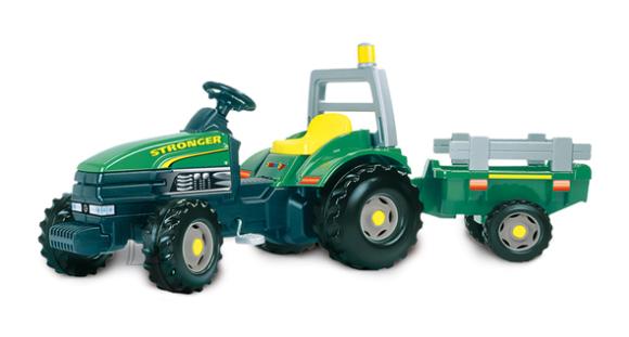 Smoby traktor Stronger järelkäruga