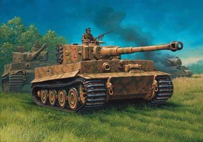 Revell mudeltank VI `Tiger`I Ausf. E (Sd.Kfs.181) 1:72