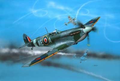 Revell mudellennuk Supermarine Spitfire Mk. V 1:72