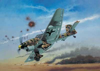 Revell mudellennuk Junkers Ju-87 B2/R2 1:72