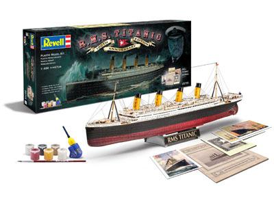 Revell mudellaev R.M.S. Titanic - 100 aastapäeva eri 1:400