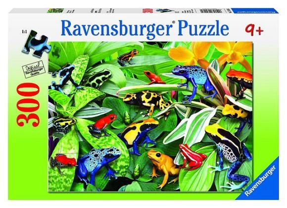 Ravensburger Ravensburger puzzle 300 tk. Sõbralikud konnad