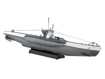 Revell mudellaev German Submarine Type VII C  1:350