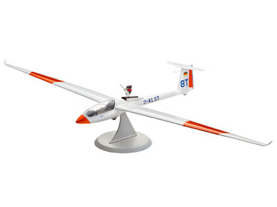 Revell mudellennuk Model Set Segelflugzeug LS-8t (& engine) 1:32