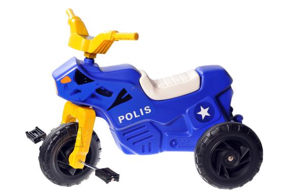 Plasto mootorratas Police