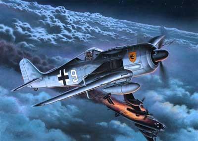 Revell mudellennuk Focke Wulf FW 190 A-8/R-11  1:72