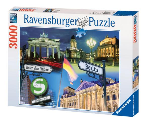 Ravensburger pusle Berliin 3000 tk