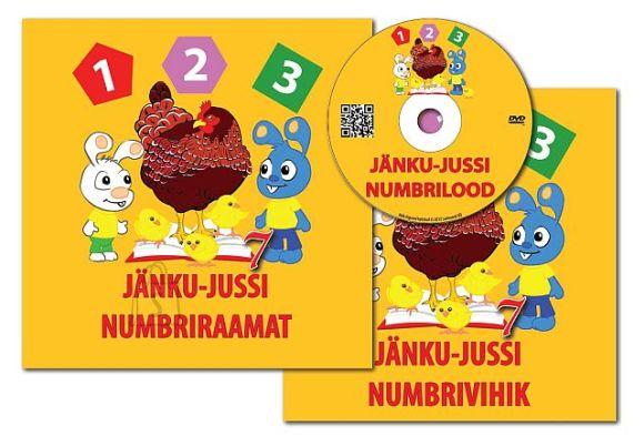 Jänku-Juss töövihik/ numbriraamat