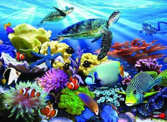 Ravensburger pusle Ookeani kilpkonnad 200 tk