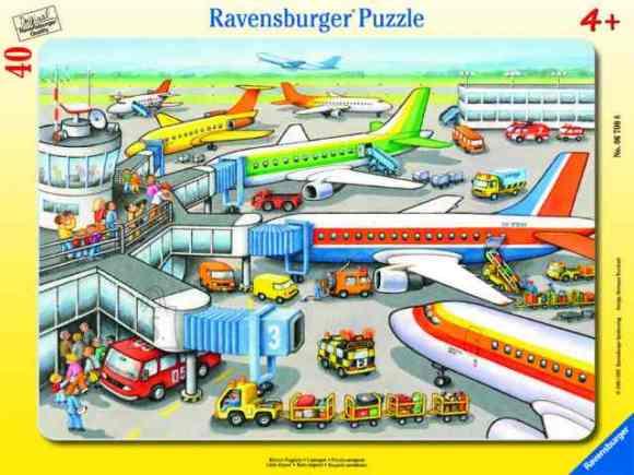 Ravensburger plaatpusle Väike lennujaam 40 tk