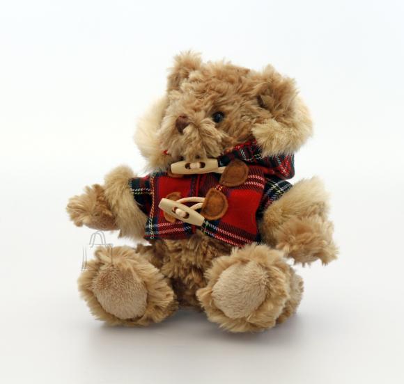 Keel Toys mängukaru Hamish ruudulise jakiga 15 cm