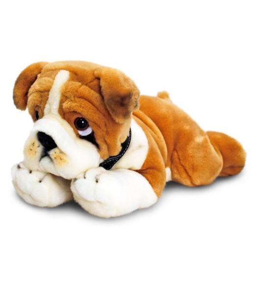 Keel Toys mängukoer Bulldog 35 cm