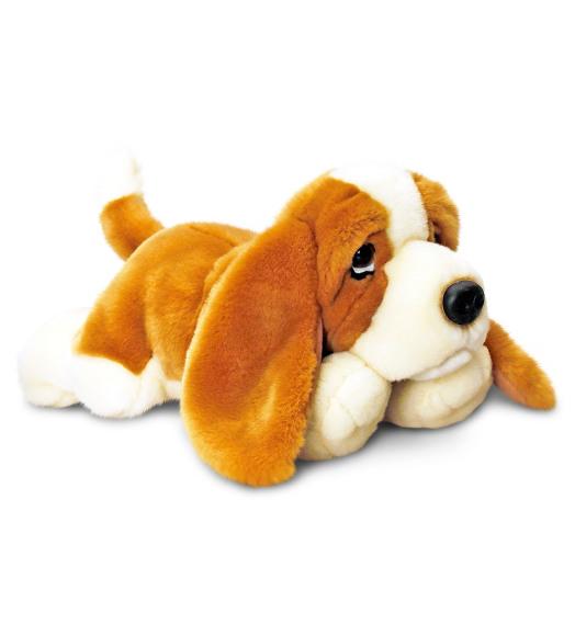 Keel Toys mängukoer Basset 35 cm