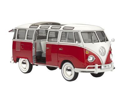 Revell mudelauto VW T1 1:24