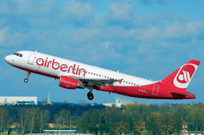 Revell mudellennuk Airbus A320 AirBerlin 1:144