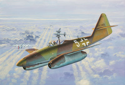 Revell mudellennuk Micro Wings Messerschmitt Me 262A 1:144