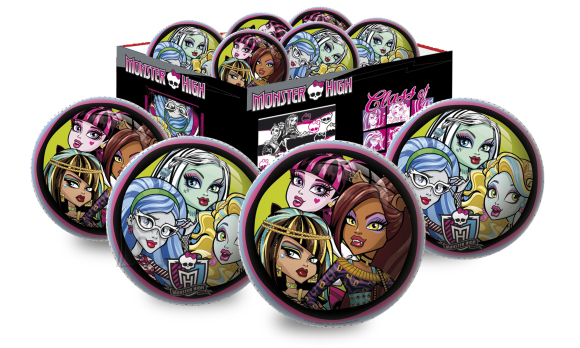 Smoby kummipall Monster High 15 cm