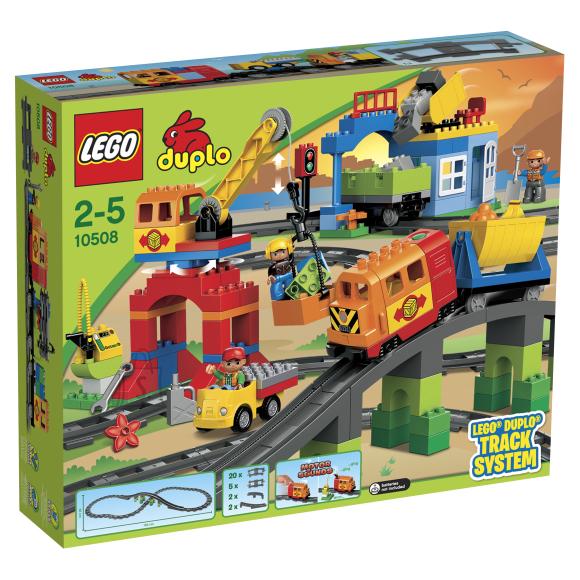 LEGO Duplo luksuslik rongikomplekt