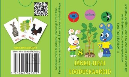 Jänku-Juss looduskaardid