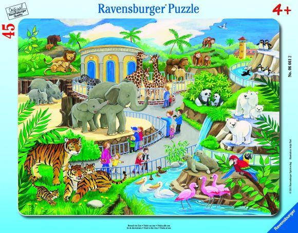 Ravensburger plaatpusle Loomaaed 39 tk