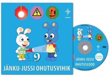 Jänku-Juss ohutusvihik + DVD