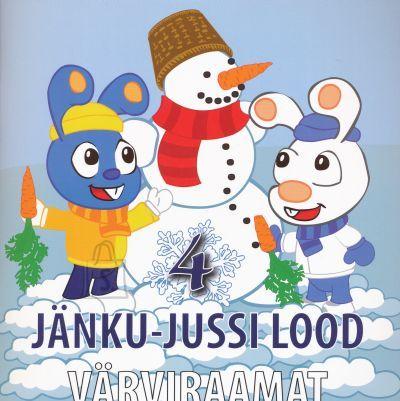 Jänku-Juss Jänku-Jussi värviraamat nr.4 23 lk