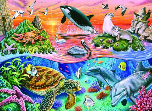 Ravensburger pusle Kaunis ookean 100 tk