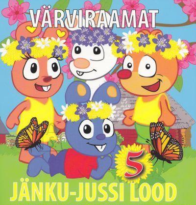 Jänku-Juss Jänku-Jussi värviraamat nr.5 23 lk