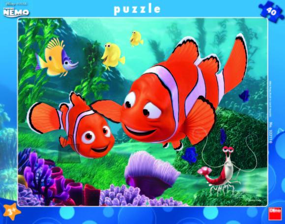 Dino suur plaatpusle Nemo 40 tk