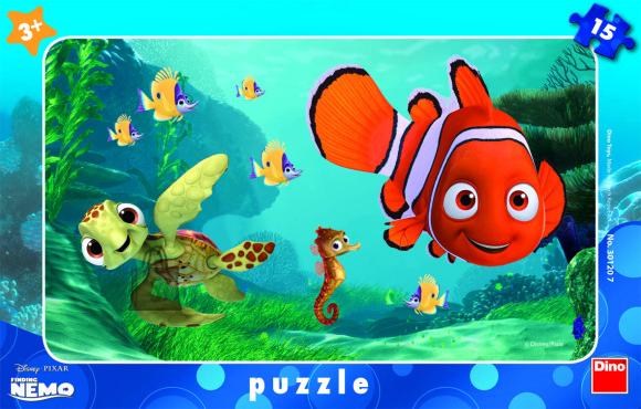 Dino Dino väike plaadipuzzle Nemo 15 tk