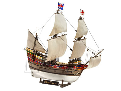 Revell mudellaev Pilgrim Ship Mayflower 1:83