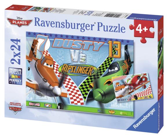 Ravensburger pusle Pipi 2x24 tk