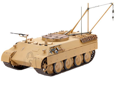 Revell mudeltank Bergepanther (Sd.Kfz. 179)