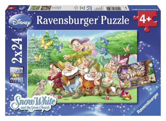 Ravensburger pusle 7 pöialpoissi 2 x 24 tk