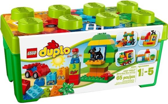 LEGO komplekt DUPLO kõik-ühes klotsikast