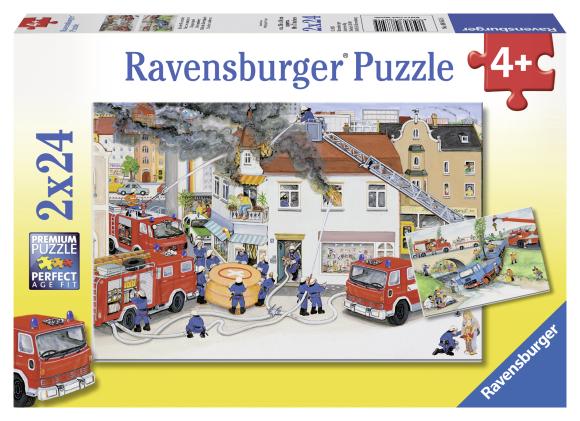 Ravensburger pusle Tulekahju kustutamas 2 x 24 tk