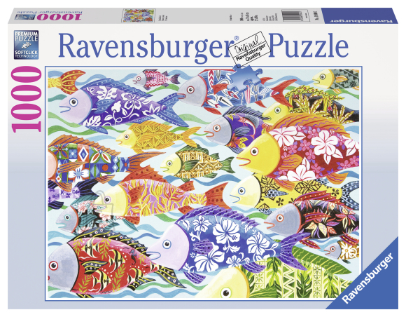 Ravensburger pusle Värvilised kalad 1000 tk