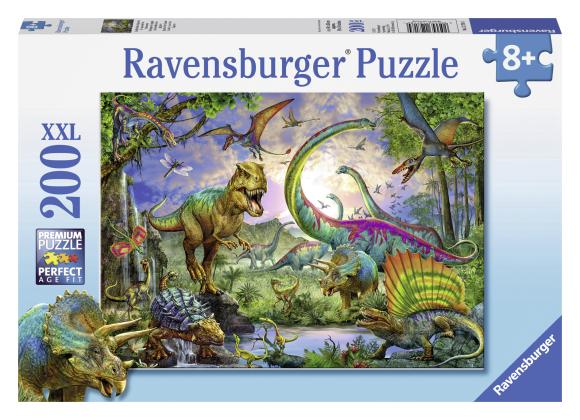 Ravensburger pusle Dinosaurused 200 tk