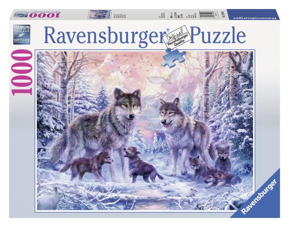 Ravensburger pusle Arktika hundid 1000 tk