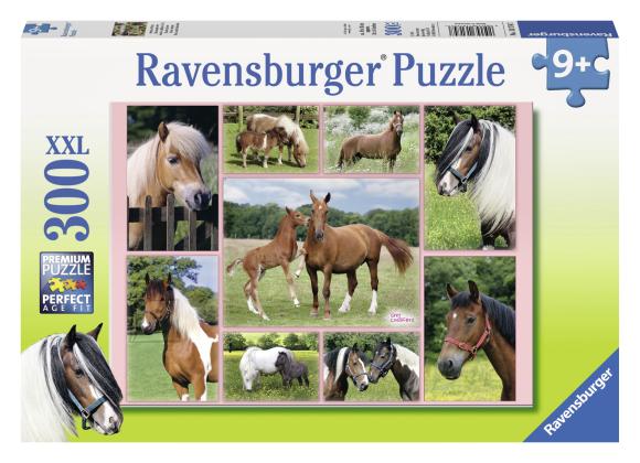 Ravensburger pusle Hobuse 300 tk