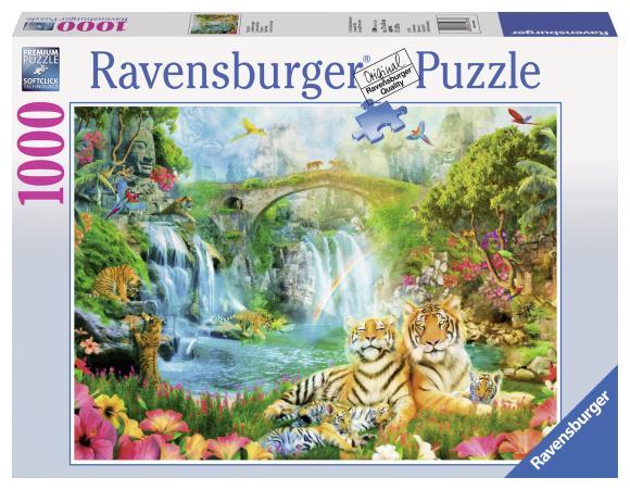 Ravensburger pusle Tiiger Grotto 1000 tk