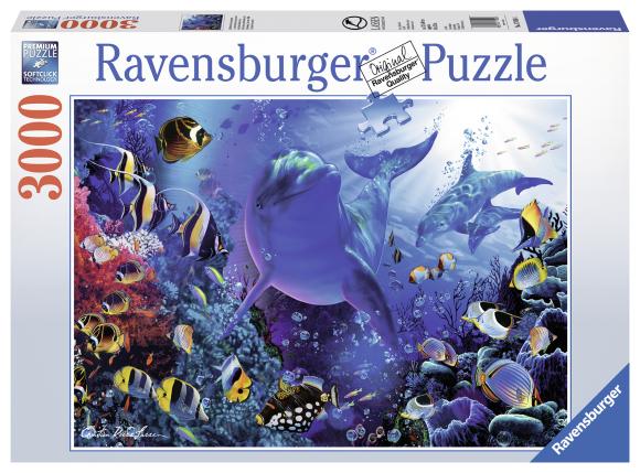 Ravensburger pusle Veealune maailm 3000 tk