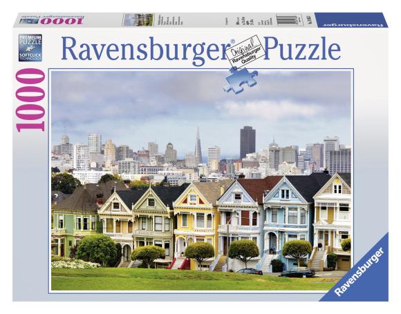 Ravensburger pusle Värvitud majad San Francisco's 1000 tk